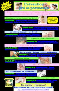 prévention affiche